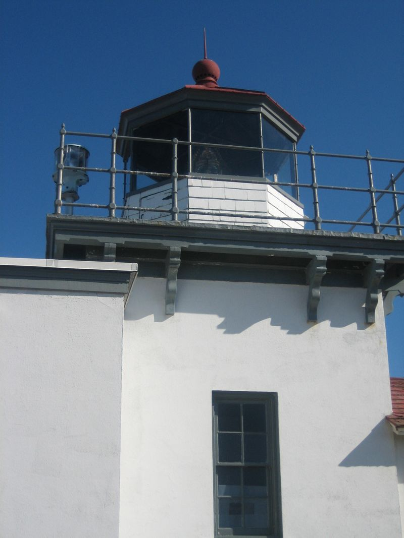 Top of lighthouse, Point No Point lighthouse, Hansville, WA 2006