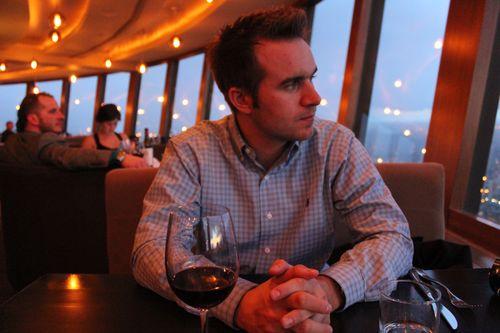 Dinner at Calgary Tower, Canada May 3, 2011 034