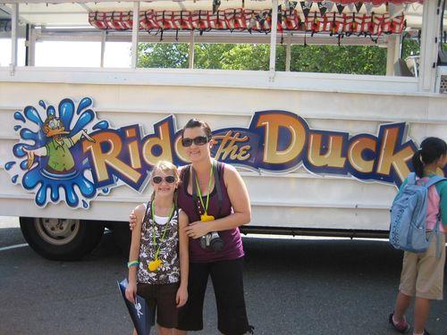 Ashley and Brenna Ride the Duck and Hurricane Ridge 09 082