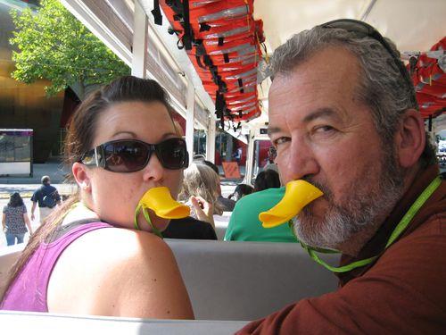 Ashley and Brenna Ride the Duck and Hurricane Ridge 09 098