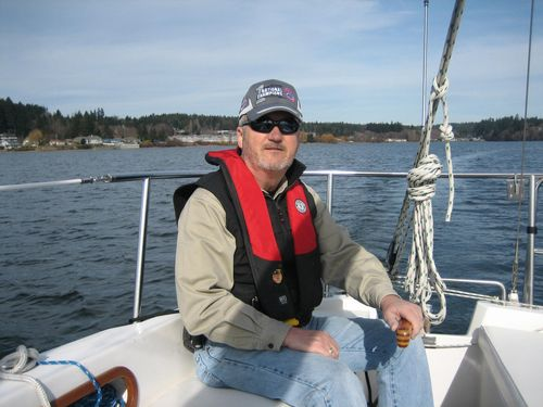 Sailing on Liberty Bay in Poulsbo, WA Feb 21, 2008 004