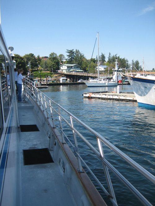 Ashley and Brenna's visit 09 San Juan Islands Friday Harbor 156