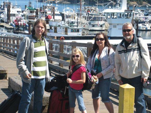 Ashley and Brenna's visit 09 San Juan Islands Friday Harbor 171