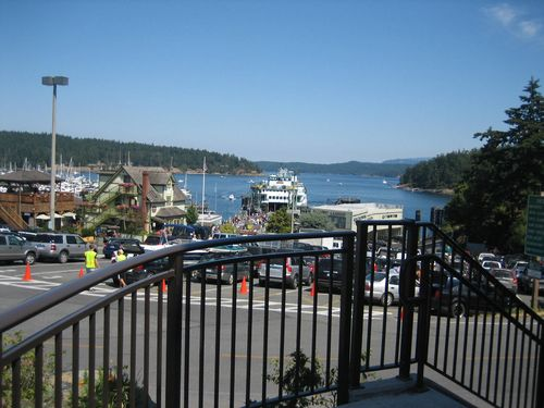 Ashley and Brenna's visit 09 San Juan Islands Friday Harbor 182