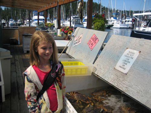 Ashley and Brenna's visit 09 San Juan Islands Friday Harbor 207