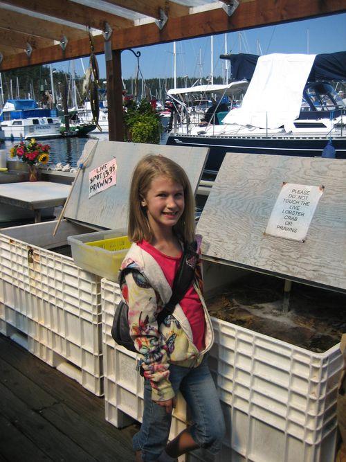 Ashley and Brenna's visit 09 San Juan Islands Friday Harbor 208