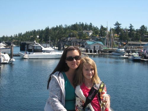 Ashley and Brenna's visit 09 San Juan Islands Friday Harbor 223