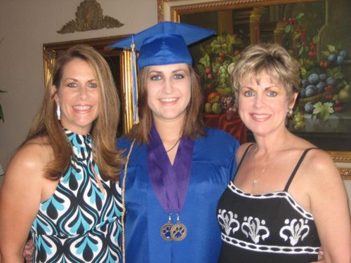 Jordan's graduation and Jeri's visit 010