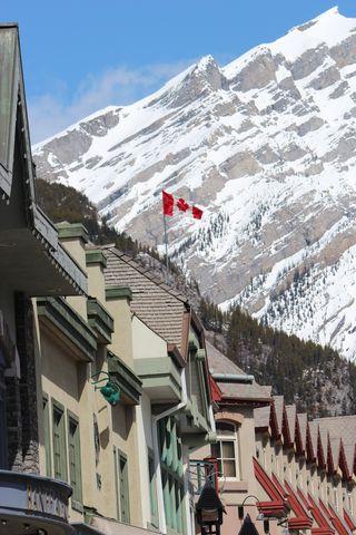 Banff Canada May 1, 2011 105