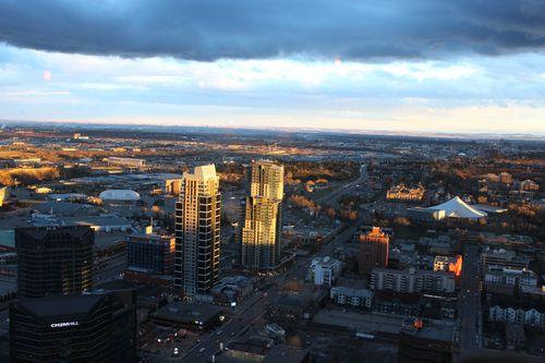 Dinner at Calgary Tower, Canada May 3, 2011 005