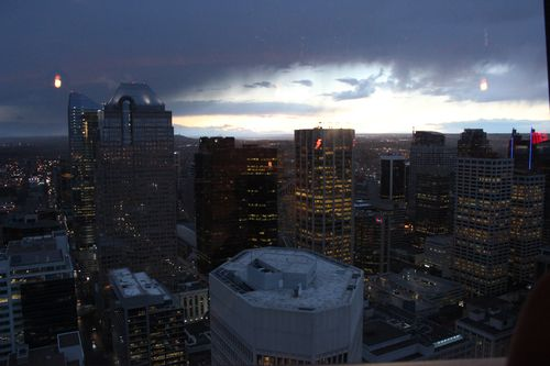 Dinner at Calgary Tower, Canada May 3, 2011 039
