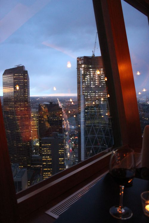 Dinner at Calgary Tower, Canada May 3, 2011 050