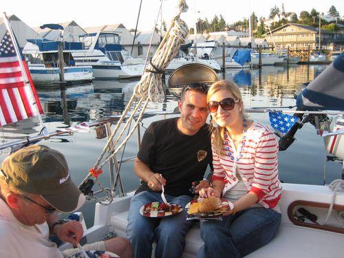 July 3rd on boat and Hurricane Ridge July 4, 2009 012
