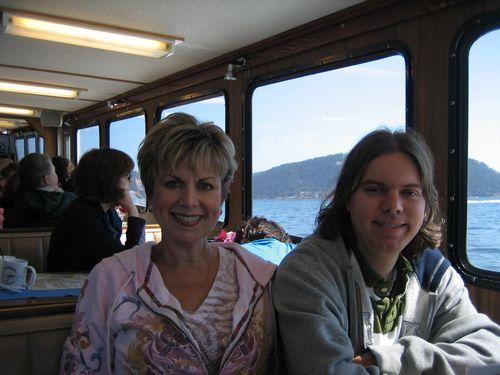 Ashley and Brenna's visit 09 San Juan Islands Friday Harbor 058