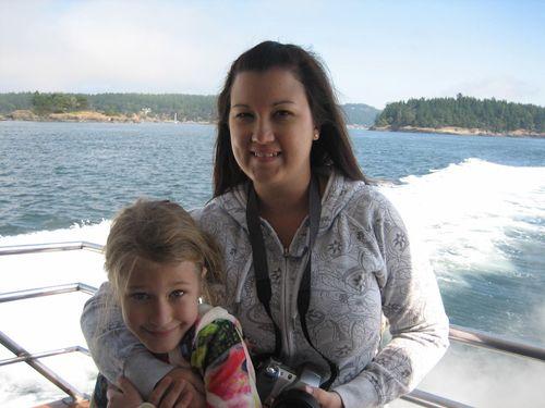 Ashley and Brenna's visit 09 San Juan Islands Friday Harbor 048