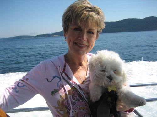 Ashley and Brenna's visit 09 San Juan Islands Friday Harbor 081