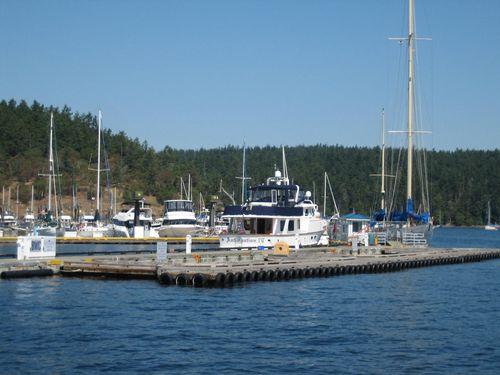 Ashley and Brenna's visit 09 San Juan Islands Friday Harbor 152