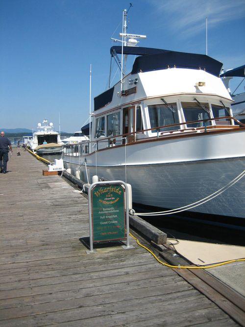 Ashley and Brenna's visit 09 San Juan Islands Friday Harbor 204