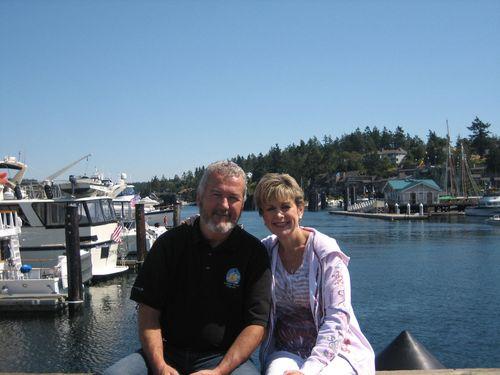 Ashley and Brenna's visit 09 San Juan Islands Friday Harbor 221