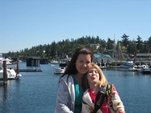 Ashley and Brenna's visit 09 San Juan Islands Friday Harbor 225