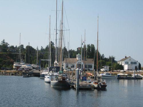 Ashley and Brenna's visit 09 San Juan Islands Friday Harbor 350