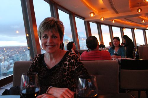 Dinner at Calgary Tower, Canada May 3, 2011 014