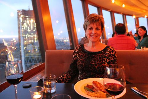 Dinner at Calgary Tower, Canada May 3, 2011 046