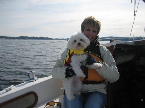 Sailing on Liberty Bay in Poulsbo, WA Feb 21, 2008 008