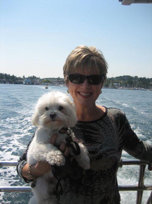 Ashley and Brenna's visit 09 San Juan Islands Friday Harbor 278
