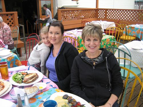 Ashley, Brenna and Kim visit Seattle July 09 048