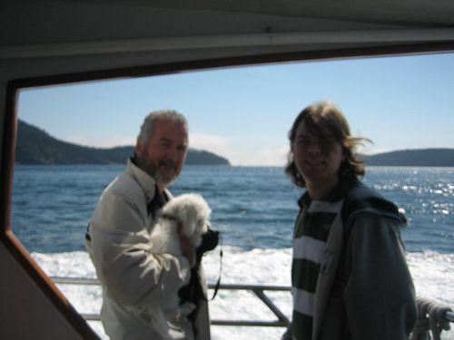 Ashley and Brenna's visit 09 San Juan Islands Friday Harbor 060