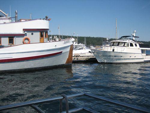 Ashley and Brenna's visit 09 San Juan Islands Friday Harbor 153