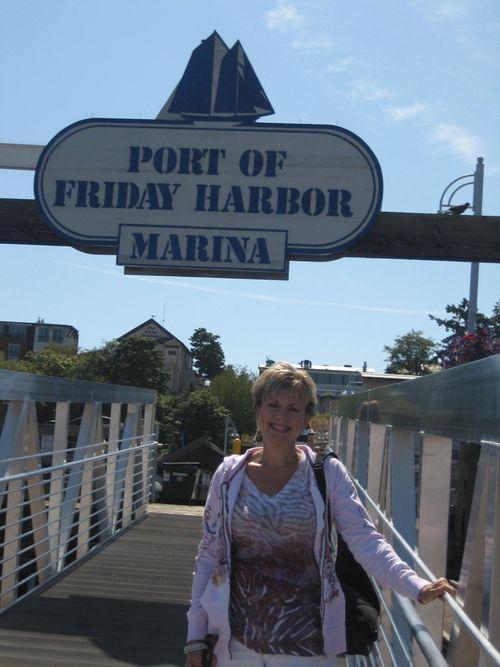 Ashley and Brenna's visit 09 San Juan Islands Friday Harbor 214