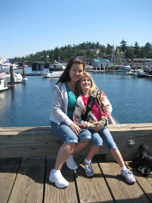 Ashley and Brenna's visit 09 San Juan Islands Friday Harbor 224