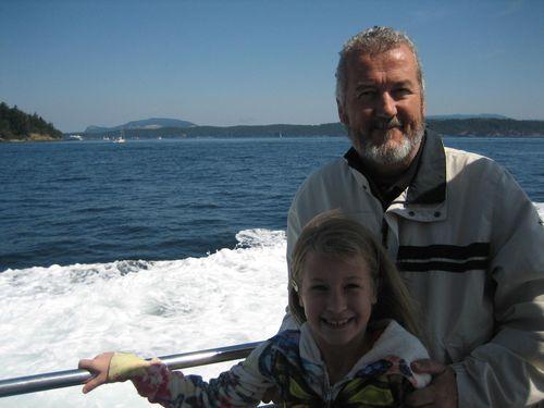 Ashley and Brenna's visit 09 San Juan Islands Friday Harbor 130
