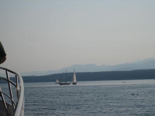 Ashley and Brenna's visit 09 San Juan Islands Friday Harbor 330