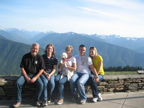 July 3rd on boat and Hurricane Ridge July 4, 2009 088