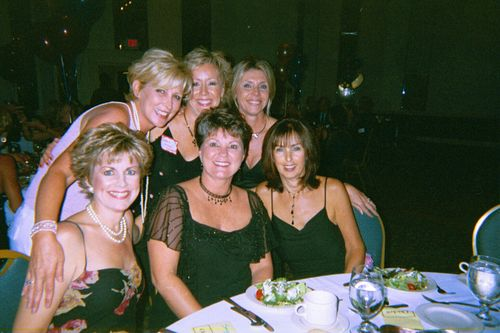 Kim Thompson, Denise Nash, Vicki Hall, Jenny McConnell, Debbie McGee, Betty Sieber