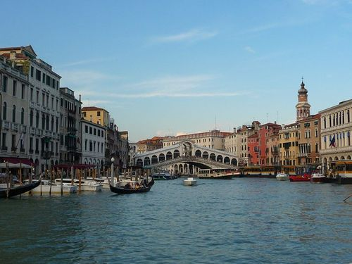 Beautiful shot of Venice taken by Brandon and Amy
