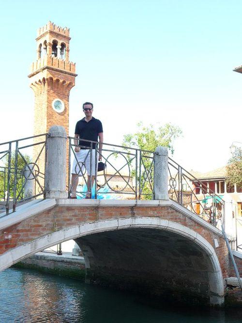 Brandon in Italy