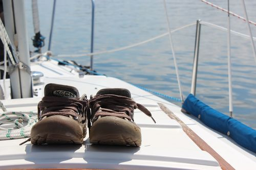 Sailing on LIberty Bay with Mark, Elliott & Sadie Aug. 2011 079
