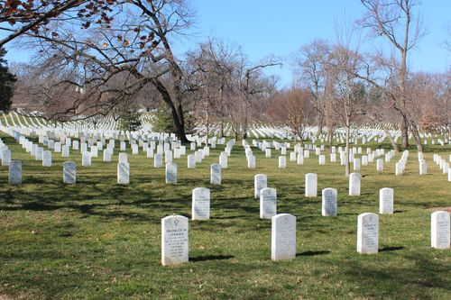 Arlington Cemetary, National Archives, Art WA DC 2.17.12 022