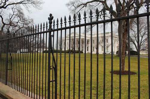 Washington, DC. 2.16.12 and White House 075