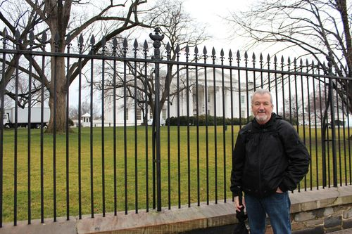 Washington, DC. 2.16.12 and White House 049