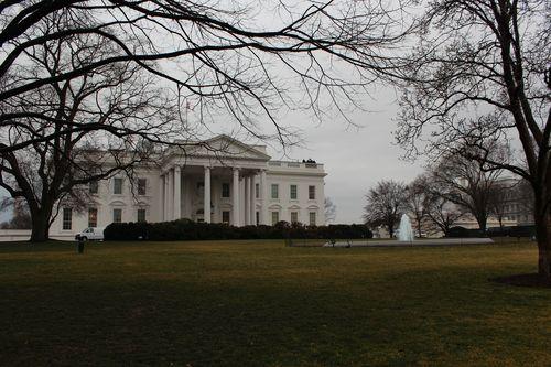 Washington, DC. 2.16.12 and White House 058