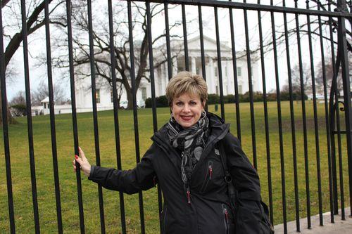Washington, DC. 2.16.12 and White House 056
