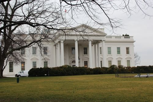 Washington, DC. 2.16.12 and White House 062