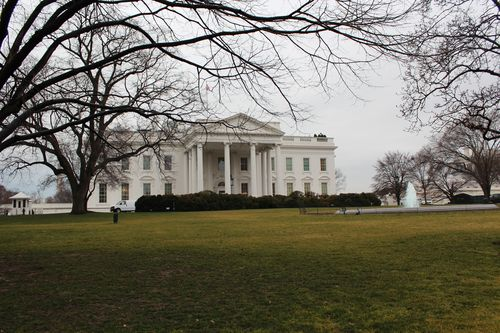 Washington, DC. 2.16.12 and White House 063