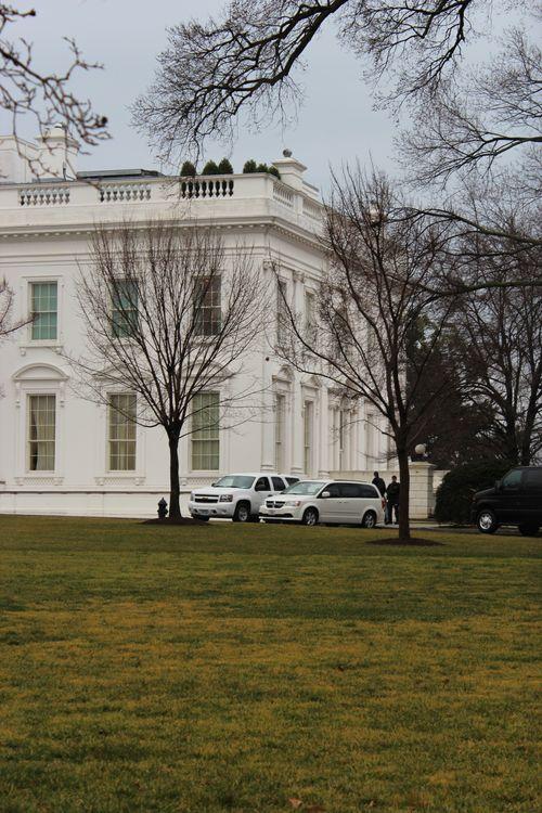 Washington, DC. 2.16.12 and White House 080