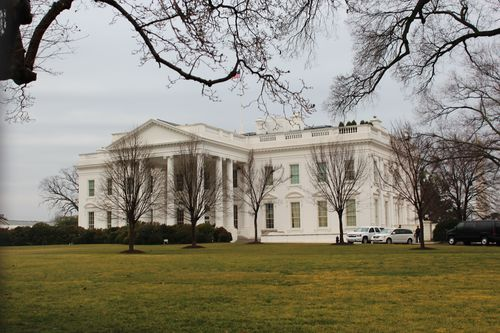 Washington, DC. 2.16.12 and White House 082
